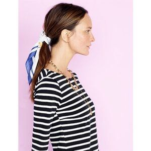 🆕 {{j.crew}} Striped Boatneck Tee